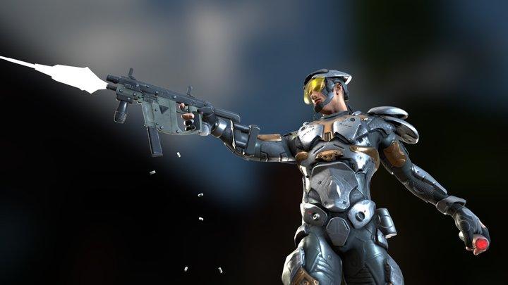 The Rogue Lieutenant 3D Model