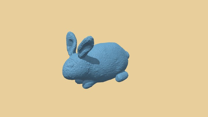 Yarn Bunny generated by Revopoint Pop 3D Model