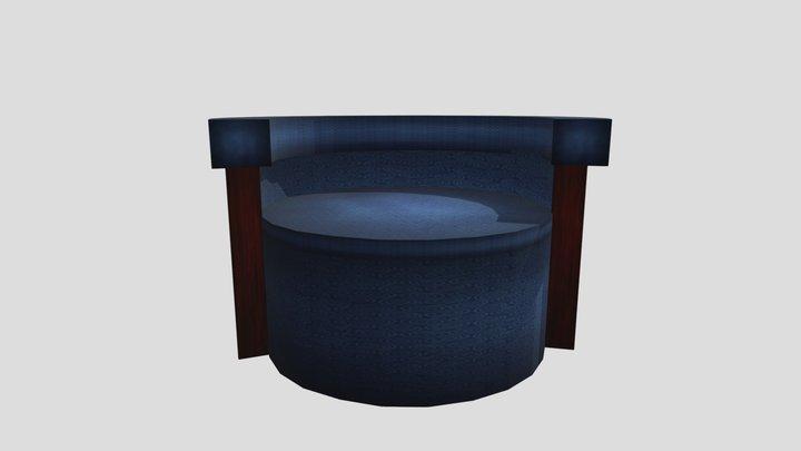 Chair - lowpoly 3D Model