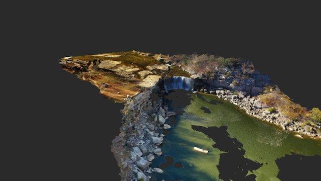 Cumberland Falls 3D Model