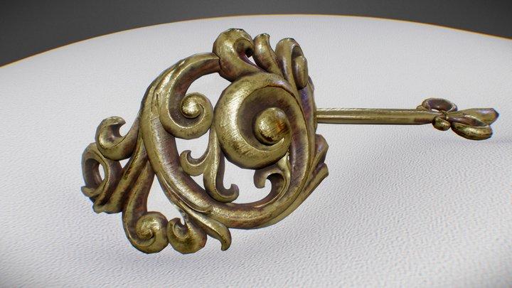 Hairpin 3D Model