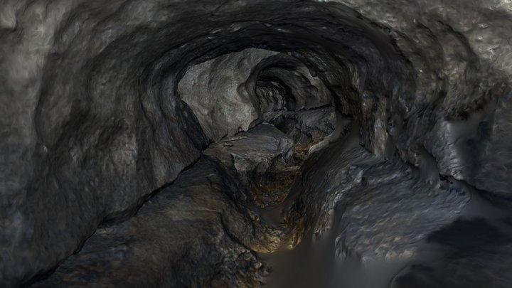 Morgana cave 3D Model