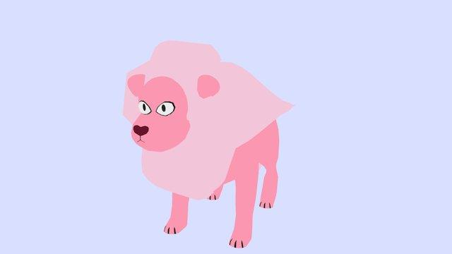 30Days3D Day 14: Lion 3D Model