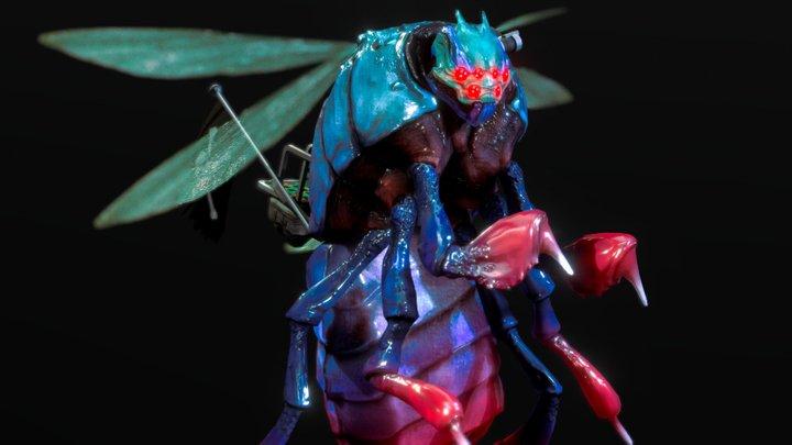 Mutant Bug Ride 3D Model