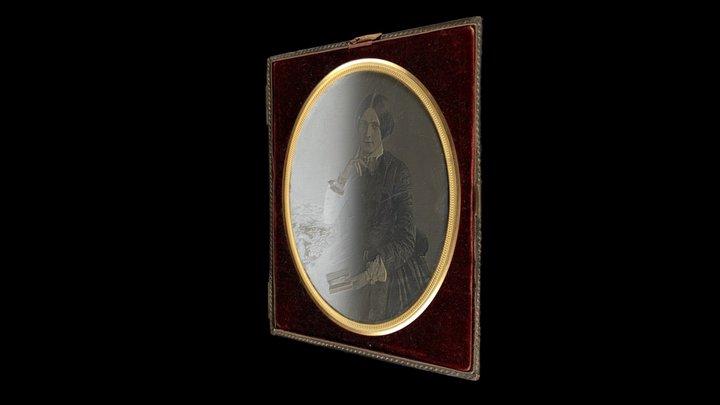 Daguerreotype of Catherine Hannah Dunkerley 3D Model