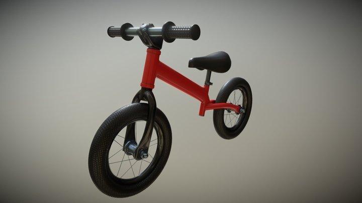 Run bike 3D Model