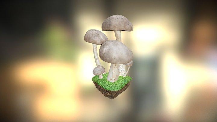 Badly_UV'd_Shrooms 3D Model