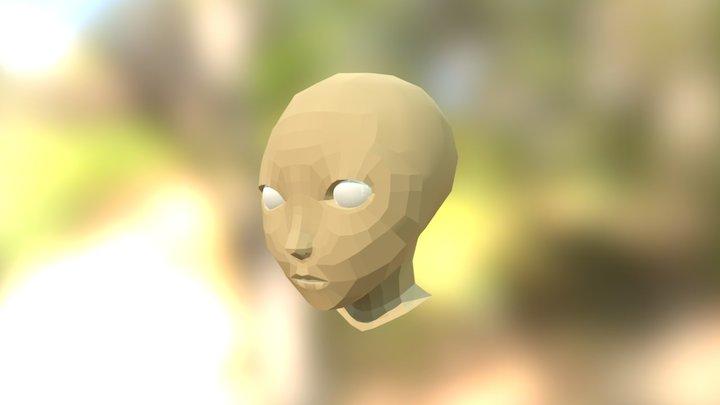 Pràctica 3, bust d'una escultura, AME 3D Model