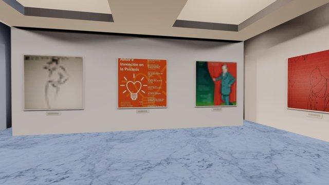Instamuseum for @germanmad 3D Model