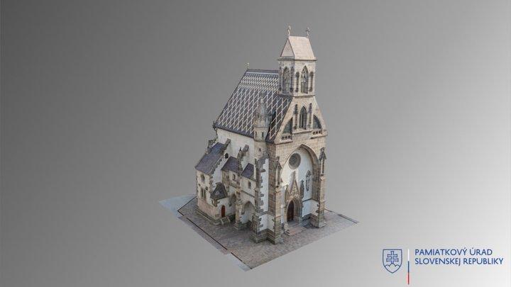 Košice - Kaplnka sv. Michala 3D Model