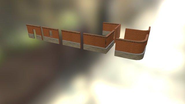 Parede Modular / Modular Walls 3D Model