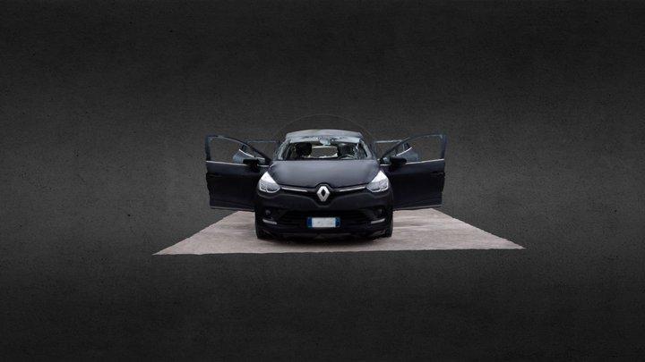 The Renault Clio - Agisoft Coaching 3D Model