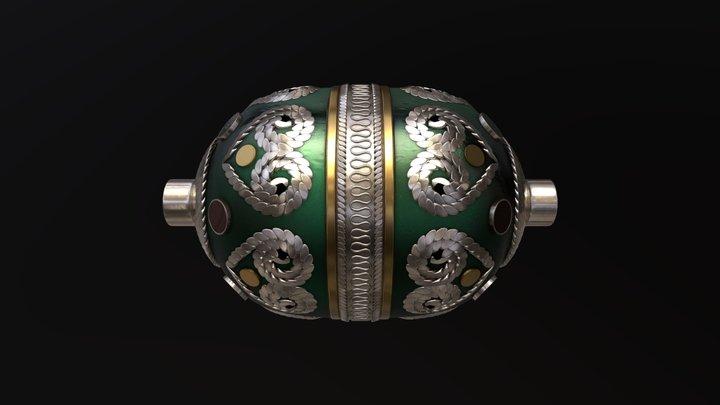 Kazakh Bead 3D Model