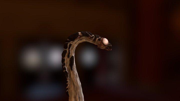 Alien Insect 3D Model