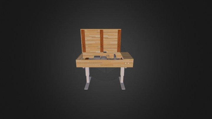 PC-Desk 3D Model