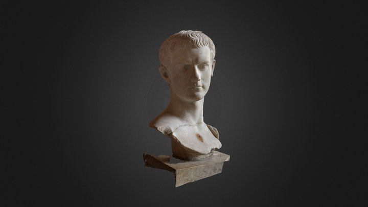 Louvre Caligula (PhotoScan) 3D Model