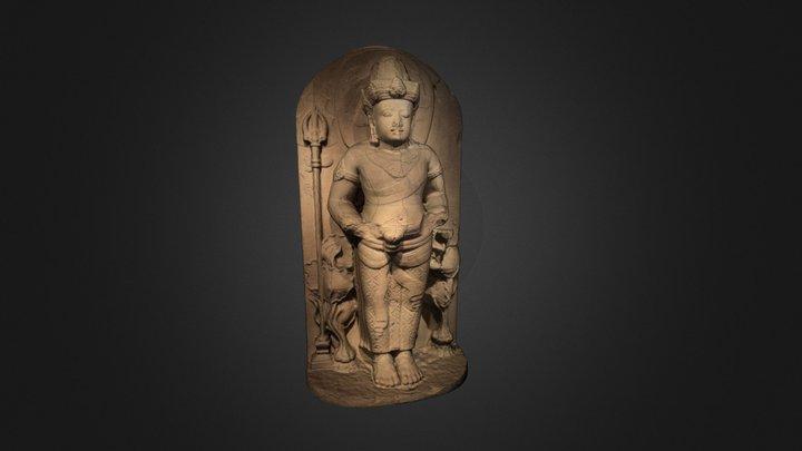 Doorkeeper Nandishvara 3D Model
