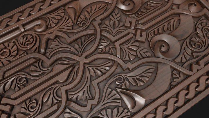 arabic ornament 3D Model