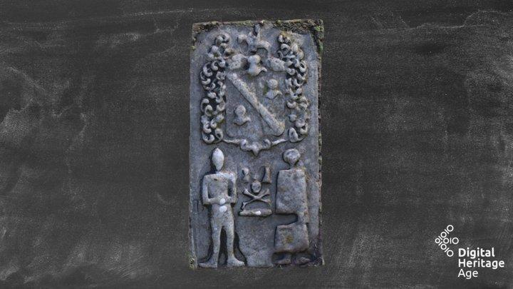 Nobber ME005-071018 tomb effigial 3D Model