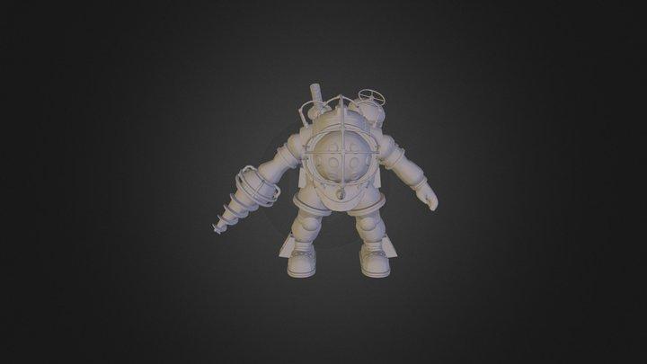 Big Daddy HP 3D Model