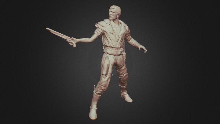 Max Rockatansky 3D Model