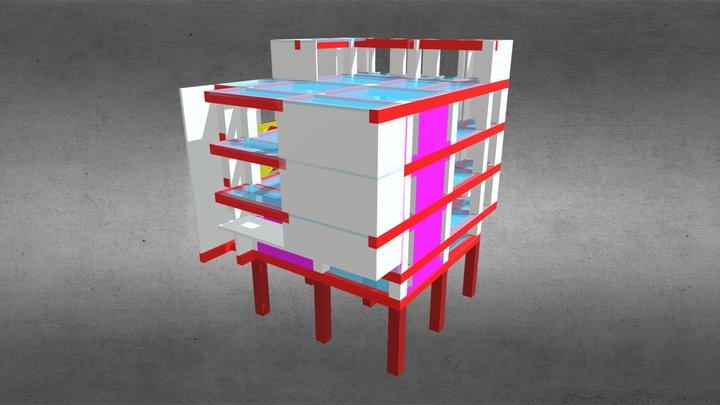 2020cslc L施設(沖縄)スタジオ642 3D Model