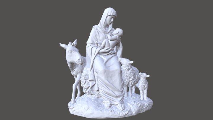 "Скульптура ""Рождество"" 3D Model"