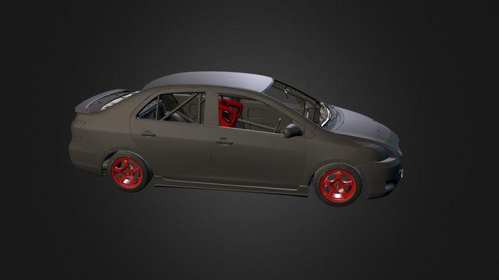 Toyota Vios WIP 3D Model