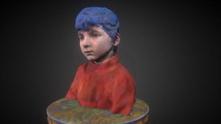 Modified scan of a boy by Guido Salimbeni 3D Model