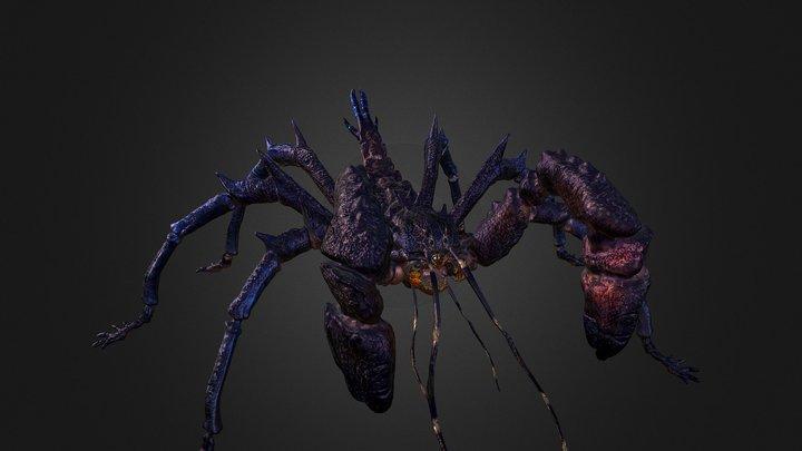 RCA 3D/ creature 03 3D Model