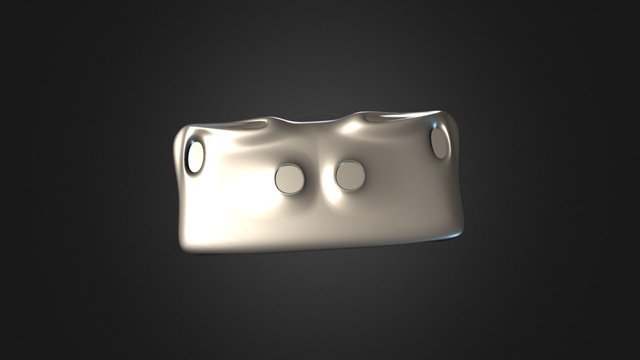 Iphone_6Plus_Case_Option_02 3D Model