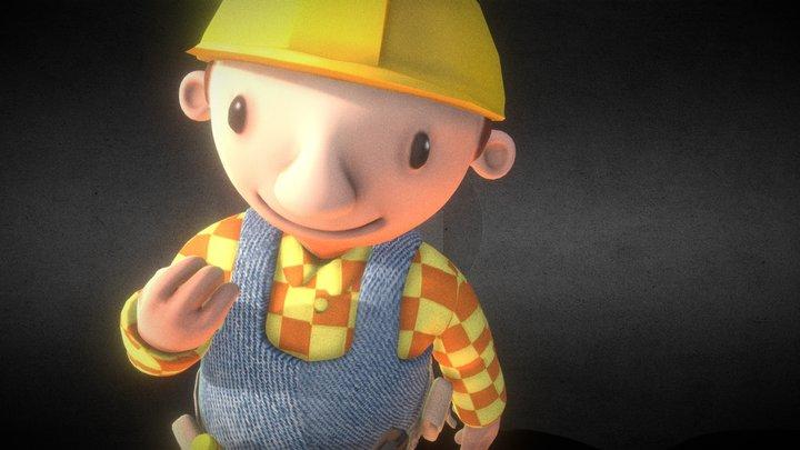 Bob The Builder 3D Model