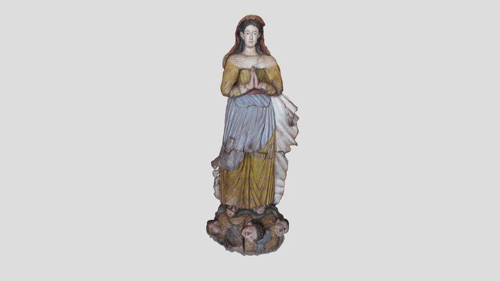 Estatua - São Miguel das Missões 3D Model