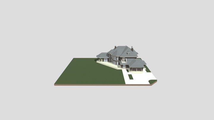 Репино Парк К650 3D Model