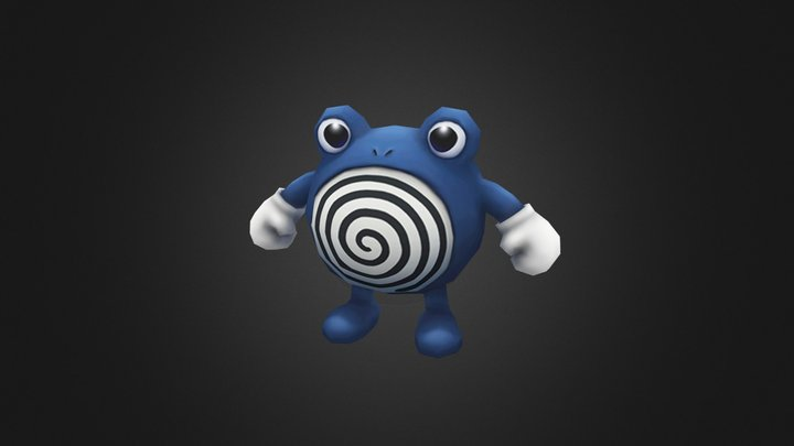 Poliwhirl 3D Model
