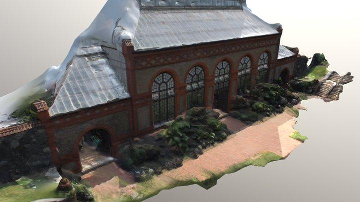 Conservatory at the Biltmore Estate 3D Model