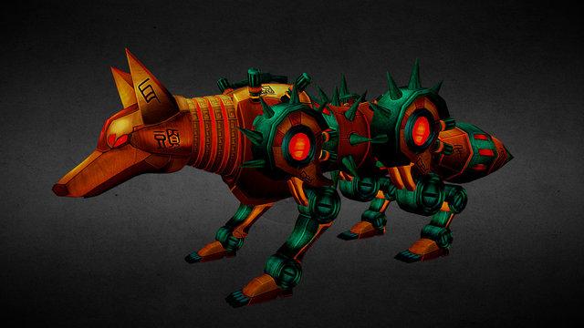 Machine Fox New 3D Model