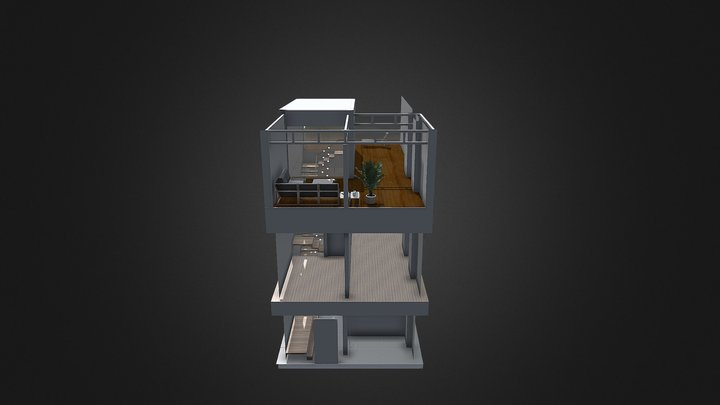 P189stairs3 3D Model