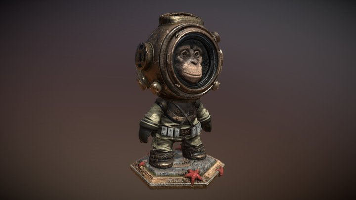 Meet MAT2: Sea Monkey 3D Model