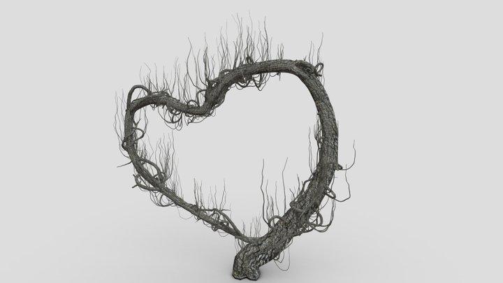 Heart Tree 3D Model