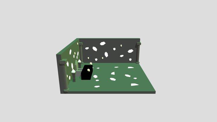 Nuromancer Boss Office 3D Model