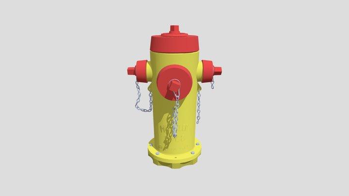 HW [XYZSchool] Detailing Fire Hydrant 3D Model