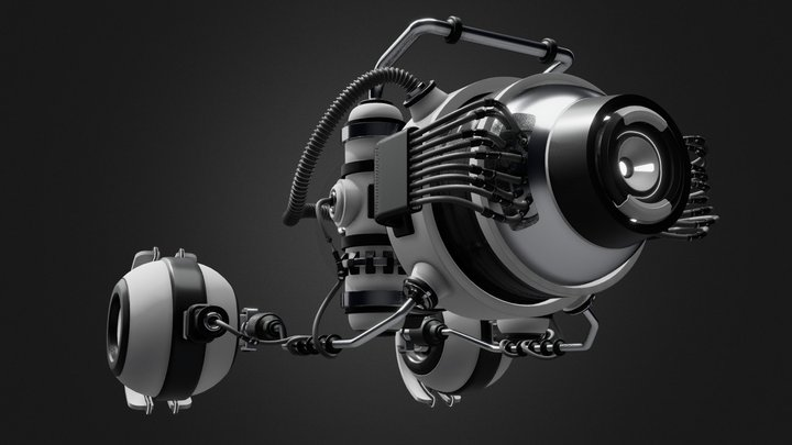 Podracer #1 3D Model