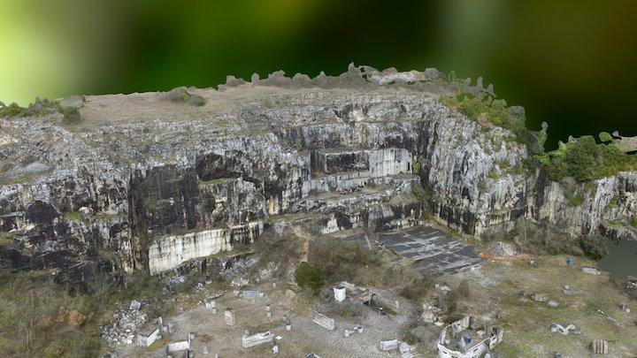 Site d'extraction de ressources naturelles 3D Model
