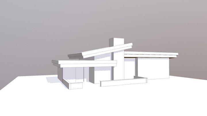 Object House 3D Model