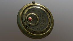 Rotational Clock Design 3D Model