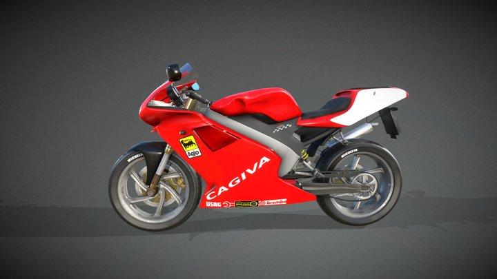 Cagiva Mito Evo old 3D Model