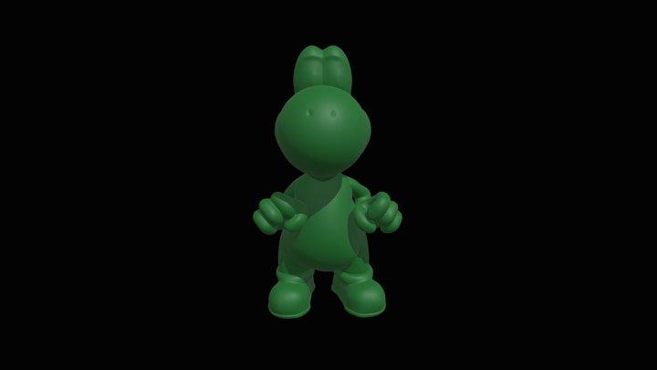 Yoshi (High Poly) 3D Model