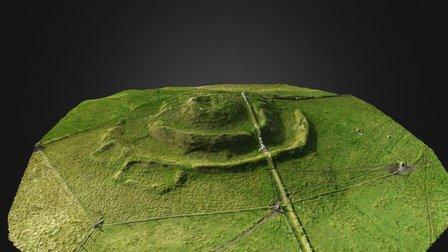 Underhoull Broch, Unst Shetland Isles 3D Model