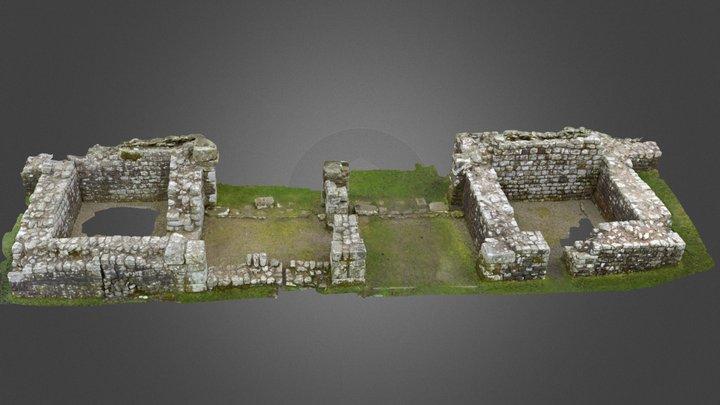 Birdoswald Roman Fort South Gate 3D Model